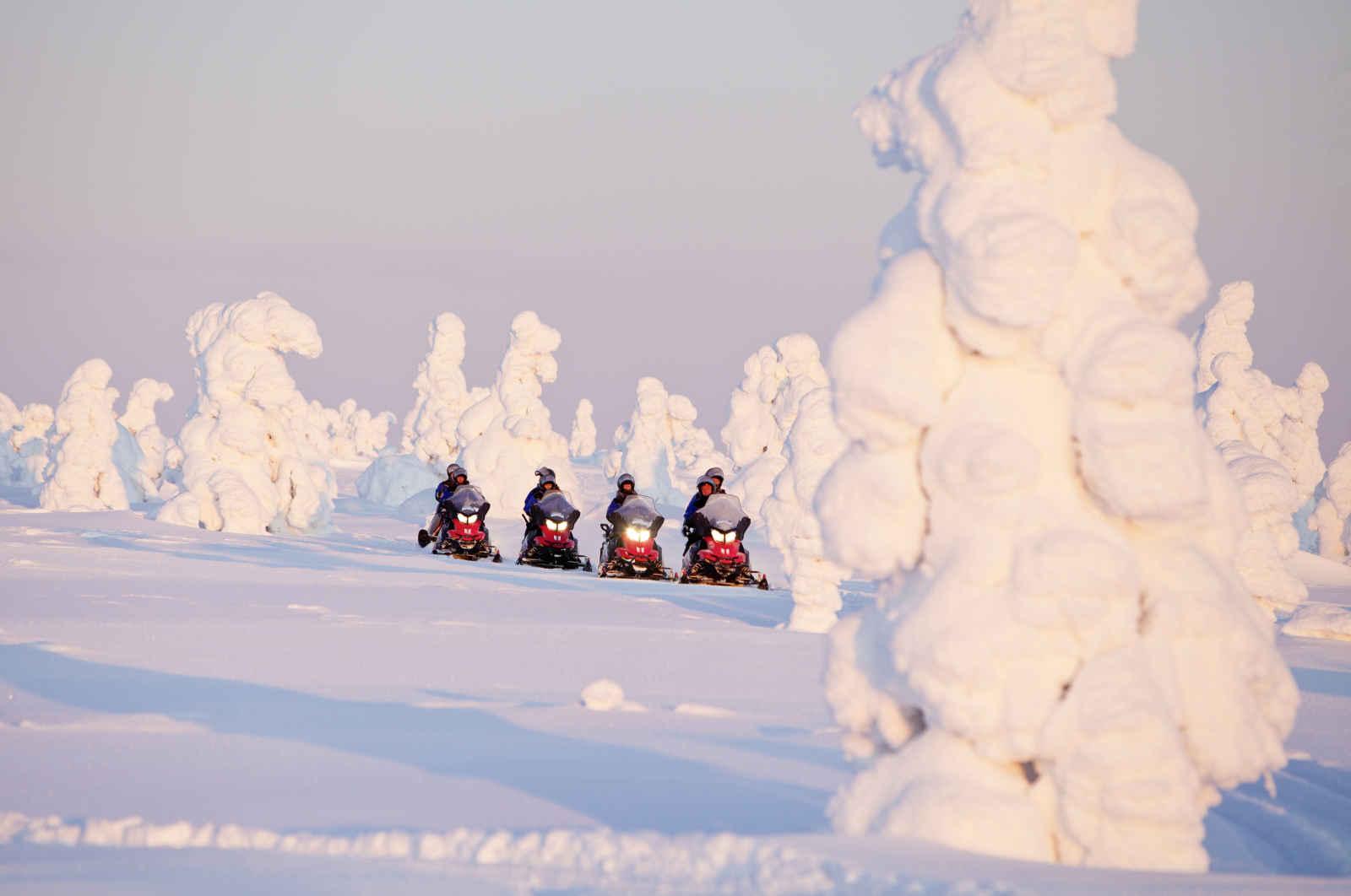 Finlande - Laponie - Luosto - Santa's Hôtel Aurora